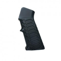 AR-15 Aluminum Grip -Cobra BLACK