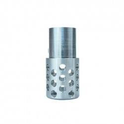 CASTLE Muzzle Brake [Government Size] STAINLESS