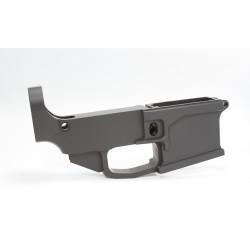 AR-15 80% CERAKOTE  BILLET Stripped Lower Receiver BLACK  CERAKOTE