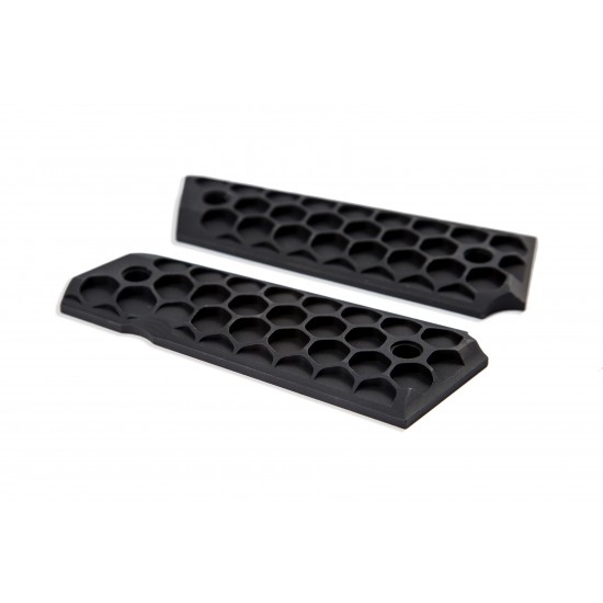 HIVE [1911 Compact Grips] BLACK