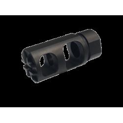 FALCON [AR-15 1/2-28 Muzzle Brake] BLACK