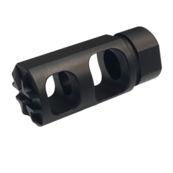 FALCON [AR-15 1/2-28 Muzzle Brake] BLACK