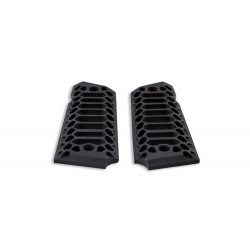 COBRA SKELETON - Full Size 1911 Grips BLACK