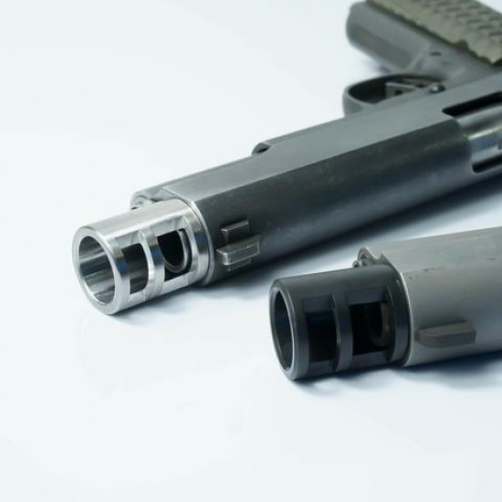 GR-1 Muzzle Brake [Government Size] STAINLESS