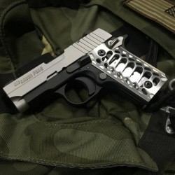 Sig Sauer P238 Grips (COBRA SKELETON  BRUSHED)