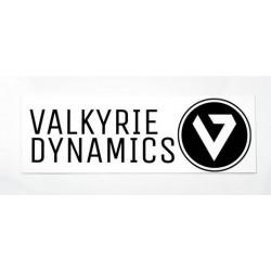 """Valkyrie Dynamics 2"""" by 6"""" Sticker"""