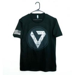 Valkyrie Dynamics Distressed Shield Shirt MEDIUM